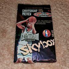 1997-98 SKYBOX  METAL CHAMPIONSHIP PREVIEW BASKETBALL PACK KOBE-JORDAN INSERTS ?