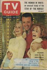 1963 TV GUIDE Via Damone Gloria Neal Quinn O'Hara of The Lively Ones