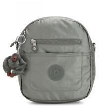 Kipling Small Backpack convertible Shoulder Bag  MAXX in METALLIC STONY RRP £67