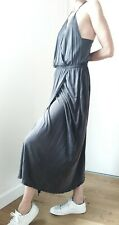 Vanessa Bruno VGC drape maxi dress 38 uk 10 grey elegant long summer robe Marant