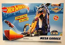 Hot Wheels Mega Garage Parking Driving Ramp Car Large Playset Toy NEW 2018