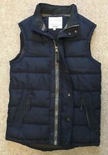 GORGEOUS FAT FACE NAVY PADDED DOWN STYLE GILLET JACKET XS EXTRA SMALL