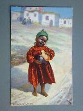 R&L Postcard: The Egyptian Gazette (Tuck's), Upset Crying Egypt Girl