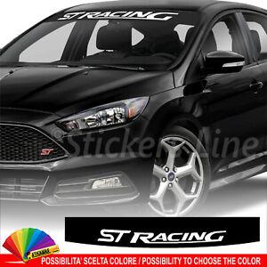 Fascia parasole Ford ST Racing adesivo parabrezza rs motor sport #