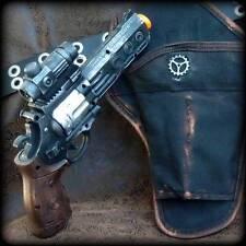 Steampunk cyber gothic GUN HOLSTER+BELT revolver pistol Victorian laser Toy MC02