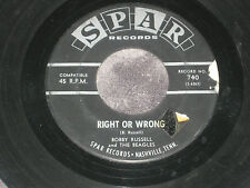 Bobby Russell & the Beagles, Right or Wrong/Roll Over Beethoven