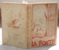 1938 LA FONTE AZIONE CATTOLICA MANUALE ASPIRANTI AC
