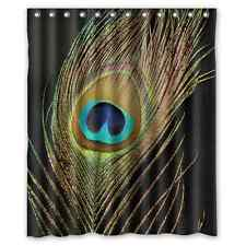 Brand New Peacock Shower Curtain 60 x 72 Inch