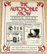 The Automobile Show - Crystal Palace - January 30th to February 7th 1903 - HC