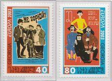 2003 Georgië 420a-421a Europa CEPT - Affichekunst - Poster art