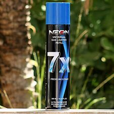 NEON 7x Butane Gas for Torch Lighter 300ML - Cigar Jet Refill Fluid Tank Liter