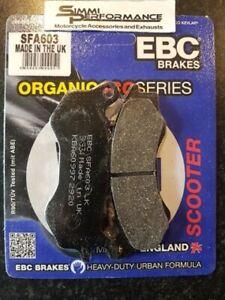 EBC Organic FRONT BRAKE PADS HONDA PCX 125  2009 2010 to  2014 2015 2016 2017