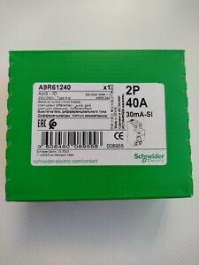 A9R61240 Schneider Superinmunizado 2×40 30mA Residual current circuit breaker
