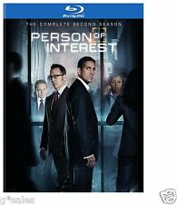 Person of Interest ~ Complete Second Season 2 Two ~ NEW 4-DISC BLU-RAY SET