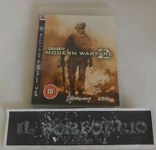 PS3 PAL)) CALL OF DUTY MODERN WARFARE 2 COD INGLESE OTTIMO E COMPLETO