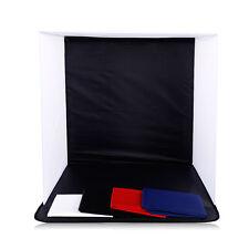 CY 50cm Photo Studio Photography Light Cube Tent Soft Shooting Box 4 Backdrops