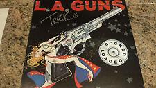 """* L.A. GUNS * signed classic """"Cocked & Loaded"""" album flat by 5 / UACC RD COA"""