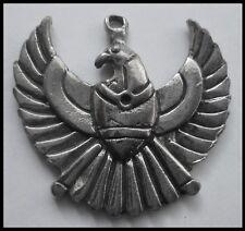 PEWTER CHARM #1166 PHOENIX (32mm x 30mm) 1 bail Egyptian BIRD PENDANT