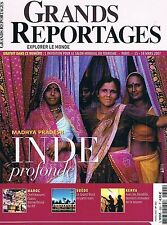 Grands Reportages - N°302 - Mars 2007 - Madhya pradesh Kenya Suede Chefchaquen