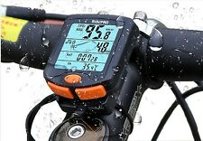 Waterproof Wireless Bike Computer Speedometer Odometer Bicycle Bike w/ Backlight