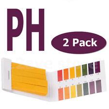 160X pH Indicator Test Strips Laborator 1-14 Paper Litmus Tester Saliva Urine PH