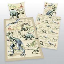 I dinosauri 100% Cotone Set Copripiumino Nuovo T-REX