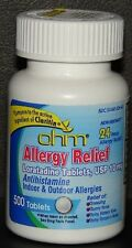 ohm Loratadine Usp 10mg Allergy Relief Tablets 500 Each