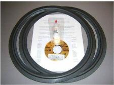 JBL Speaker Foam Surround Repair LE15A 2235H 2215A/B 2230A 2231A 4333 - BEST Kit