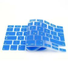 iProtect Silikon Tastaturschutz QWERTZ für Apple MacBook 12 Zoll Hellblau