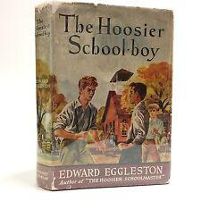 The Hoosier school-boy by Edward Eggleston 1940s Indiana