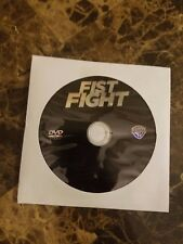 Fist Fight (DVD, 2017) DVD DISC ONLY (no blu ray, digital copy or case)