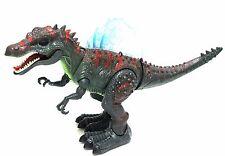 Walking Dinosaur Spinosaurus Toy Light Sound Moving Green Figure Boys Birthday