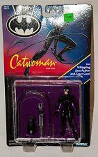 1991 DC COMICS BATMAN RETURNS CATWOMAN MOVIE ACTION FIGURE KENNER MOC