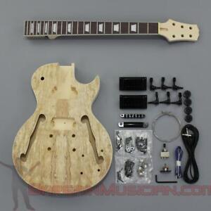 Bargain Musician - GK-012-SP - DIY Unfinished Project Luthier Guitar Kit