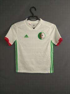 Algeria Jersey 2018/19 Home Kids Boys 9-10 y Shirt Maillot Adidas BQ4516 ig93