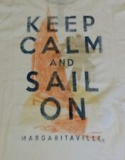 NEW Margaritaville Men's Keep Calm and Sail On Graphic T Shirt Size XL