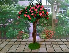 Tree for the garden. Tree. Shrub.The doll miniature. Scale 1:12.