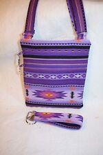 Handcrafted Crossbody - Passport Native American Southwest bag w/adj strap