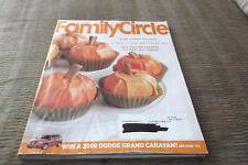 FAMILY CIRCLE MAGAZINE NOVEMBER 1 2007 VOLUME 120 NO. 13