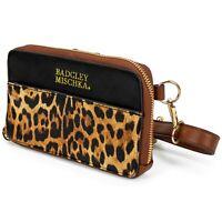 BADGLEY MISCHKA Leopard Vegan Leather Pouch Belt Bag Fanny Pack