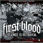First Blood : Silence Is Betrayal CD***NEW*** FREE Shipping, Save £s