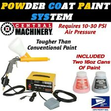 NEW Central Machinery POWDER COATING SYSTEM + 2 Colors of 16oz Paint