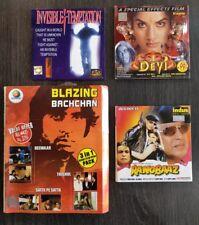 Bollywood 6 movie VCD job lot - Deewaar - Rangbaaz - Bachchan