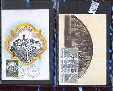 STAMPS 2 CARD MAXIMUN VATICAN CITY POPE (L7288)