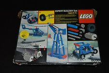 Vintage Lego 8050 Technic Expert Builder Set with Box and Insert Tray & Lid 1984