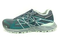 The North Face Womens 7.5 Ultra Endurance Green Grey Vibram Outdoor Shoes