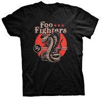 Foo Fighters - Cobra Men's Black T-Shirt - Official Merchandise