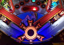 NBA SAFE CRACKER SCARED TALES ARABIAN REVENGE Pinball Trough/Universal Light Mod