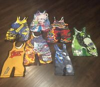 CrossFace Gear Graphics Wrestling Singlet 7 Designs & Sizes 4XS- XL