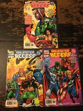 Unlimited Access #1, 3, 4 (DC) Free Combine Shipping